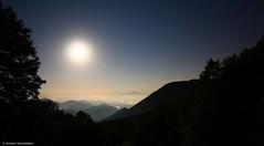 Terre d'Abruzzo e Molise (Giovanni Santostefano) Tags: italy panorama moon night woods italia meta luna notte abruzzo bosco abruzzi campitelli metuccia