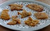 Cinnamon Sugar Crisps With An Origami Twist