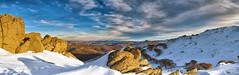 The Bluff (Tim Poulton) Tags: park travel blue sunset sky snow mountains nature water clouds sunrise trek landscape 50mm nikon rocks wide sydney australia wideangle tourist panoramic nsw stitching peaks cloudscape schneider thredbo tiltshift mtkosciusko thebluff schneiderpctssuperangulon50mmf28lens schneiderpctssuperangulon50mm