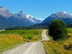 Road to Paradise (Tim Jordan Photography) Tags: newzealand mountains paradise southisland otago centralotago dirtroad newzealandsouthisland glenorchy timjordan timjordanphotography