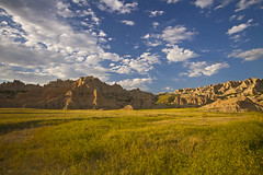 Take a Ride Across the Badlands (Matt Champlin) Tags: travel camping summer vacation hot west southdakota golden evening amazing alone driving glow hiking exotic heat mysterious 100 badlands breeze dakota tranquil summervacation desolation badlandsnationalpark badland openspaces prarire