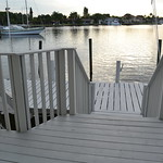 The smaller dock