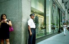 6th Avenue (neilsonabeel) Tags: street new york city nyc lomo lca shot manhattan midtown hip avenue 6th
