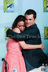 Summer and Sean (The One True b!X) Tags: television tv panel sandiego anniversary sciencefiction comiccon firefly sdcc tenthanniversary 10thanniversary seanmaher summerglau simontam sandiegocomiccon rivertam sciencechannel