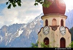 der KirchTurm von Welschnofen (H. Eisenreich Foto) Tags: mountains alps tower clock church nova prime photo ic foto fotografie image south hans kirche award berge chiesa heike getty alpen turm landschaft alto alpi tyrol dolomites dolomiti rosengarten 2012 reise sdtirol uhr adige gettyimage dolomiten latemar kirchturm levante catinaccio reisefotografie landschaftsfotografie schmidmhlen welschnofen eggental eisenreich reisefoto mygearandme eijomian landschftsfoto