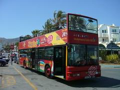 City Sightseeing around Benalmadena (deltrems) Tags: city bus public spain transport sightseeing costadelsol torremolinos citysightseeing