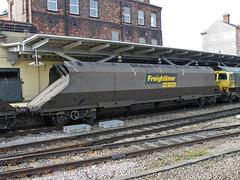 370106 Derby 020312 (Dan86401) Tags: wagon fl 370 coal hopper derby freight bogie hha freightliner flhh heavyhaul 4e86 370106