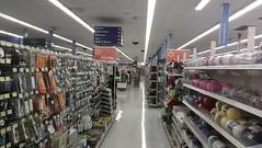 Wal-Mart - Jay, Oklahoma - Crafts & Sewing (fourstarcashiernathan) Tags: food oklahoma retail jay 2006 walmart cherokee turnpike remodel