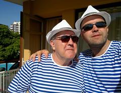 Like Father, Like Son (Toni Kaarttinen) Tags: summer vacation holiday man men guy sunglasses father hats son guys resort bulgaria fatherandson sunnybeach bulgarie bulgarije bulgarien sonnenstrand bułgaria holidayresort ブルガリア slanchevbryag болгария bulgario slunchevbryag bulgària slanchevbriag слънчевбряг blacksearesort slunchevbriag beachresot