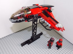 The Crimson Claw's Nike (GovernorSam) Tags: new star ship lego space halo science nike shuttle fi wars genesis sci fition