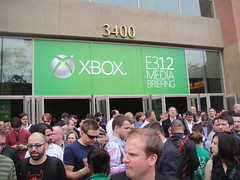 E3 Expo 2012 - Microsoft Press Event - exiting the event (Doug Kline) Tags: la media expo crowd xbox event convention microsoft usc e3 exit press 2012 galencenter mediabriefing