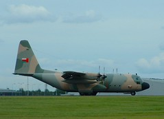 Omani Air Force 501 (tinies) Tags: lockheed stansted hercules 501 omani c130h
