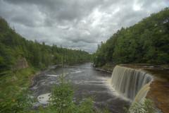 Tahquamenon Falls (skyduster4) Tags: canon waterfall michigan waterfalls canonrebel upperpeninsula hdr t3i tahquamenon tahquamenonfalls rebelt3i canonrebelt3i skyduster4
