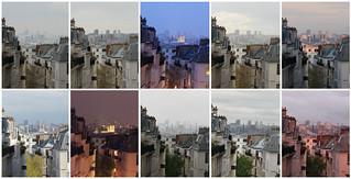 Paris series I - ma fenêtre - photoimpressionisme