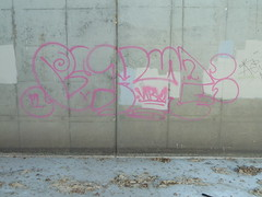 Bake (White Lightning 1) Tags: graffiti bay baker area be bake agm nbk bakes agmk