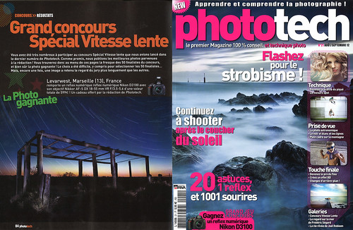 Parution presse : Phototech n°21 (août/septembre 2012)