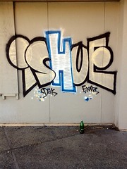 Ishue (Mellow As The Ocean) Tags: beer one graffiti paint 5 over ds killer porn if yami graff digits left brew scrap 40oz yee ishu mickeys brewski emr ishue flickrandroidapp:filter=none