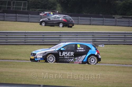 Aiden Moffatt in Touring Car action during the BTCC 2016 Weekend at Snetterton