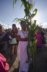 Participación de más de 600 alumnos de educación básica y media superior en la primera Guelaguetza de San Nicolás Yaxe