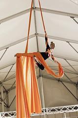 Christina Bubnova (Jul Chitay) Tags: aerial aerialist sport dance flexibility aerialarts arts high aerials woman girl
