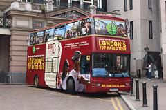 LK03CFG, Big Bus Company at Charing Cross (londonbuspics) Tags: charingcross