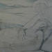 CHASSERIAU Théodore,1843 - Ste Marie l'Egyptienne, Etude pour l'Eglise St-Merri, Paris (drawing, dessin, disegno-Louvre RF24372) - Detail 1