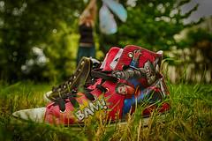 BAM (Stefan (Bilderberge.de)) Tags: superman superwoman shoes shoe schuhe schuh running outdoor
