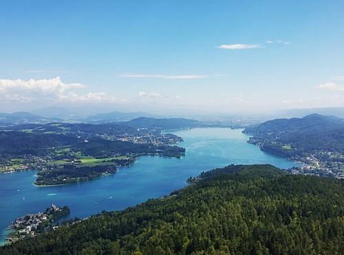 The kingdom of Carinthia #worthersee #austria #klagenfurt #instagood #instadaily #lake #landscape #MadeInAustria #europe #nature #pyramidenkugel #sky #travel #travelgram #instatravel #instamoment #passionpassport #widenyourworld