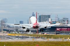 Helvetic Airways - Embraer ERJ-190LR  HB-JVM  London City Airport (paulstevenchalmers) Tags: london londoncity airport lcy