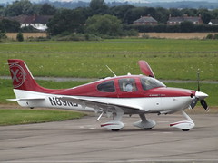 N89NB Cirrus SR22T (Aircaft @ Gloucestershire Airport By James) Tags: gloucestershire airport n89nb cirrus sr22t egbj james lloyds