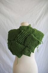 2015 (agnes.saabythomsen) Tags: miniprojektkropogform brocoli drapering textil fraktaler grnt grn green kadk kadkdk