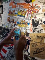 Punk in Britain exhibit 2016 (Cinzia, aka microtip) Tags: exhibition graphicdesign collage graphic murales punk punkinbritain britain photography jamiereid rebel contemporaryart sexpistols details dettagli
