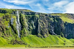 Near Seljalandsfoss Iceland (Einar Schioth) Tags: waterfall water sky summer sunshine day canon clouds cloud cliff canyon nationalgeographic ngc nature photo picture outdoor iceland sland einarschioth