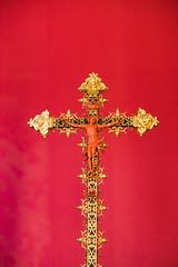 Cristo del Relicario de Santa Leocadia (Kevin Vsquez) Tags: catedral primada de toledo espaa spain cathedral jewlery joyas oro