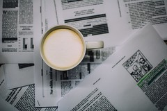 stay motivated (ivvy million) Tags: coffee studying university ivvymillion uni kaffee cup bokeh sheets paper papier studies studien nikond7100 35mm
