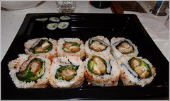Yo!Sushi (jo92photos) Tags: sushi yosushi japan japanese food nori rice masterclass demonstration 522016week32 giveusyourbestshot