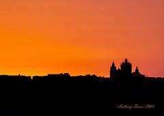Last light, Mdina, Malta, 2016 (Ant Sacco) Tags: sunset mdina lastlight