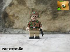 Waffen SS-Sturmman, customized LEGO WWII (Forestmn) Tags: lego wwii ww2 soldier ss waffen cammo