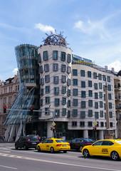 Dancing House, Frank Gehry (Matthew Usher) Tags: prague praha czech republic europe travel olympus holiday explore dancing house frank gehry deconstructivism modern architecture building