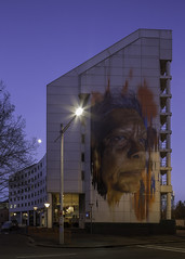Jenny Munro by Adnate (on the water photography) Tags: jennymunroe anz inspiringlocals inspiring locals adnate street art mural sydney