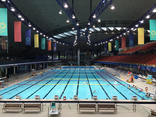 montreal: olympic pool