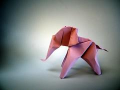 Elefantinho - A. Carlos Gnova (Rui.Roda) Tags: origami papiroflexia papierfalten elefante elephant elefantinho a carlos gnova
