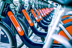 Olympic Cycle (London Lights) Tags: londonlights olympiccycle london lights londres londra repetitions repeating bikes dof nikon