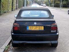 Volkswagen Golf 3 cabrio 1997 nr2123 (a.k.a. Ardy) Tags: rfjp80 softtop