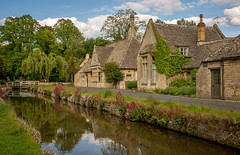Lower Slaughter (IceNineJon) Tags: cotswolds england lowerslaughter gloucestershire photography greatbritain europe unitedkingdom canon5dmarkiii 5dm3 britain uk village town stone home house