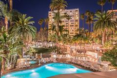 Night at the Fairmont Miramar (Samantha Decker) Tags: ca california canonef1635mmf28liiusm canoneos6d fairmontmiramar samanthadecker santamonica socal hotel pool