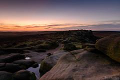 Dawn Colours on Stanage (David Raynham) Tags: stanageedge nikon d750 peakdistrict sigma24mmf14art dawn sunrise derbyshire darkpeak