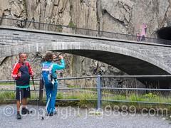REU246 Third Devil's Bridge (1958) over the Reuss River, Schllenen Gorge, Andermatt, Uri, Switzerland (jag9889) Tags: 2016 20160815 alpine andermatt archbridge bridge bridges brcke ch cantonofuri centralswitzerland crossing devilsbridge europe flickr gorge gotthardstrasse helvetia hiker infrastructure innerschweiz kantonuri outdoor pont ponte puente reuss river roadbridge schlucht schweiz schllenen schllenenschlucht stone suisse suiza suizra svizzera swiss switzerland teufel teufelsbrcke uri zentralschweiz jag9889