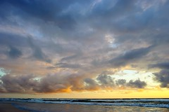 New Smyrna Beach Dawn (09/05/2016) (TaranRampersad) Tags: newsmyrnabeach florida dawn morning beach outside outdoors seaside oceanside sunrise sunset sun reflection waves texture
