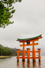 The Great Otori (dltaylorjr) Tags: miyajimaisland greattoriigate toriigate miyajima itsukushima shrines otorii hiroshima japan